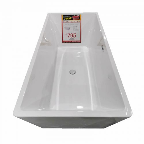 Charli Freestanding Bath - top