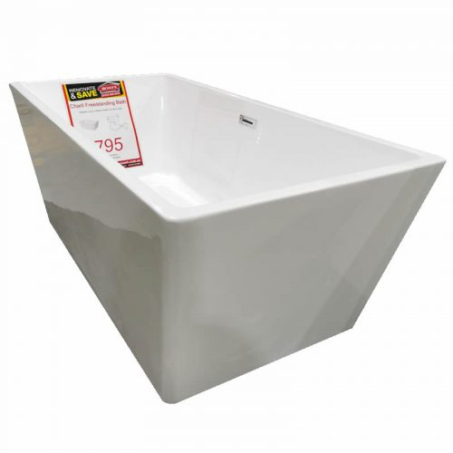 Charli Freestanding Bath - side