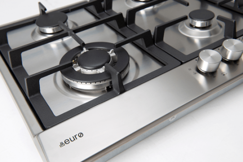 60cm Gas And Wok Cooktop - Burners