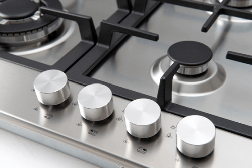 60cm Gas And Wok Cooktop - Dials