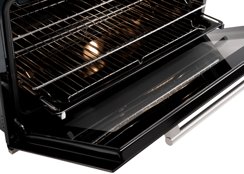 90cm Electric Giant Oven - Open
