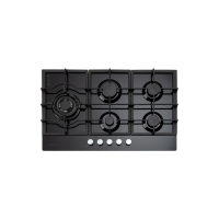 90cm Gas on Glass Cooktop