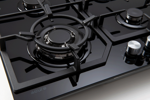 ECT600GBK – 60cm Gas on Glass Cooktop