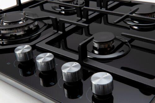 ECT600GBK cooktop control knobs