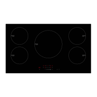 ECT90ICB – 90cm Induction Cooktop