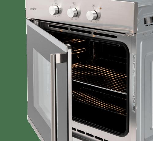 60cm Electric Side Opening Oven EO60SOSX - open door