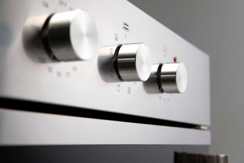 60cm Electric Side Opening Oven EO60SOSX - control knobs