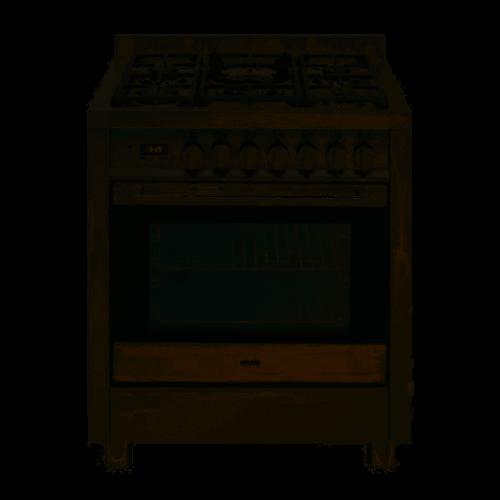 EG700GFSX-70cm Gas Freestanding Oven