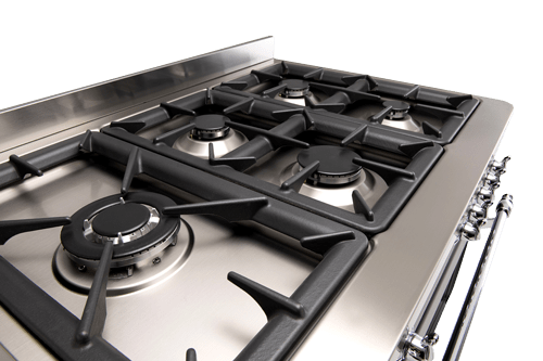 90cm Dual Fuel Royal Chiantishire – Burners