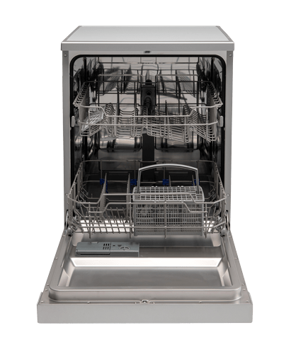 60cm Freestanding Dishwasher – 12 Place Setting - Open Dishwasher