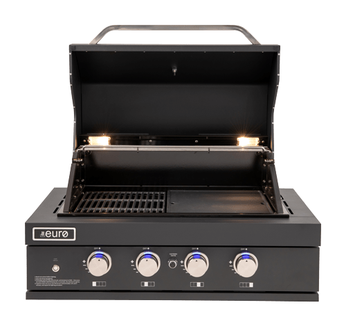 EAL900RBQBL – 4 Burner Black Built-In BBQ