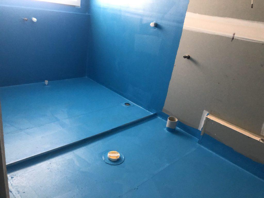 waterproofing bathroom