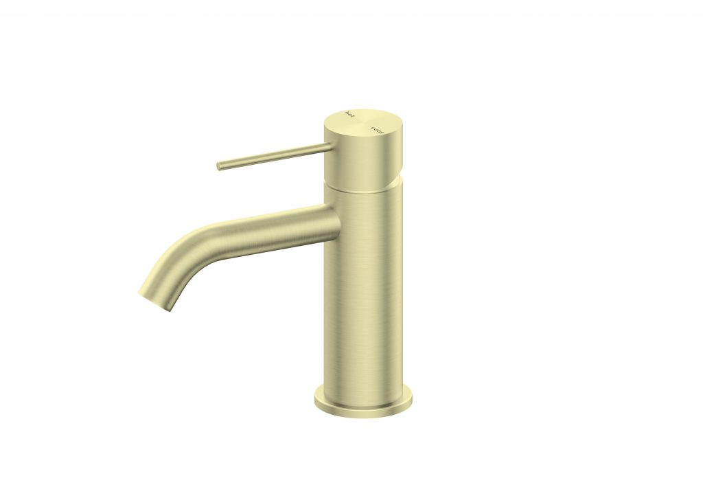 Mecca Basin Mixer -Brushed Gold
