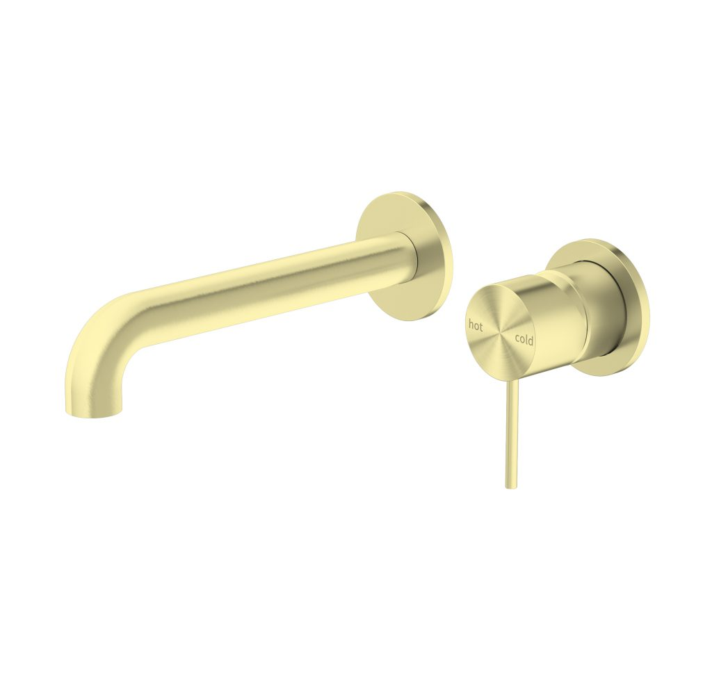 Mecca Wall Mixer - Brushed Gold