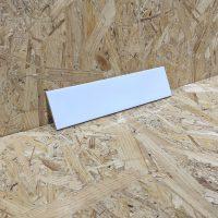 Gloss White Ripple Wall Tile 75x30cm