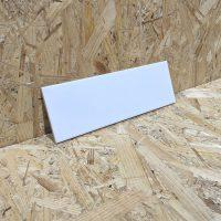 Matte White Wall Tile 10x30cm