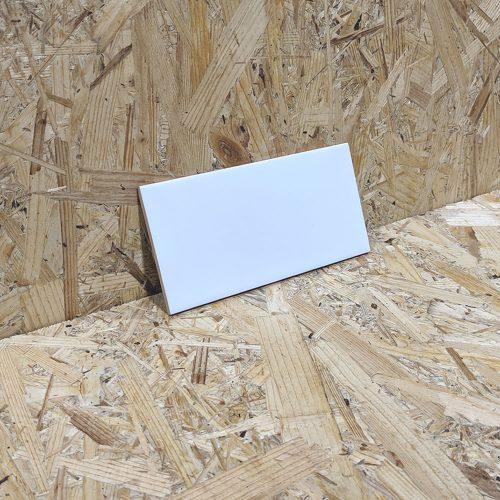 Matte White Wall Tile 100x200mm