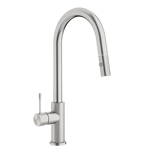 Opal Pull-out Sink Mixer Brushed Nickel