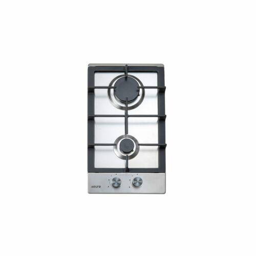 30cm 2 Burner Stainless Steel Gas Hob Cooktop