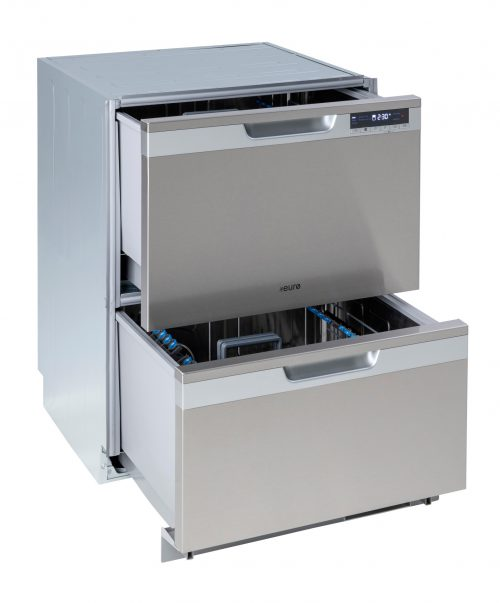 60cm In-Built Double Drawer Dishwasher