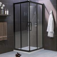 black-corner-entry-shower-screen
